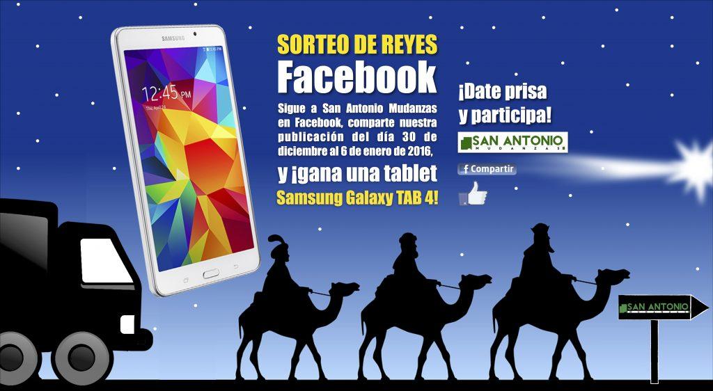 Sorteo Reyes - San Antonio Mudanzas